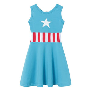 Toys Story 4 Dress For Girl Princess Costumes Fancy Mickey Ariel Belle Outfits Nancy Robe Moana Snow White Elsa Anna Clothes