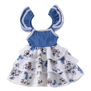 Melario Girls Dresses 2020 Spring Princess Dress Baby Girls Clothes Princess dress Kids Jersey Dresses for Girls Clothes 1-5Y