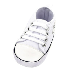 Baby Star Shoes Boy Girl Sneaker Cotton Soft  Sole Anti-Slip Newborn Infant First Walkers Toddler Casual Canvas Crib Shoes