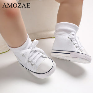 2020 New Arrival Baby Boys Girls Shoes Canvas Print First Walker Infant Toddler Anti-Slip Prewalker Indoor Shoe For Dropshipping