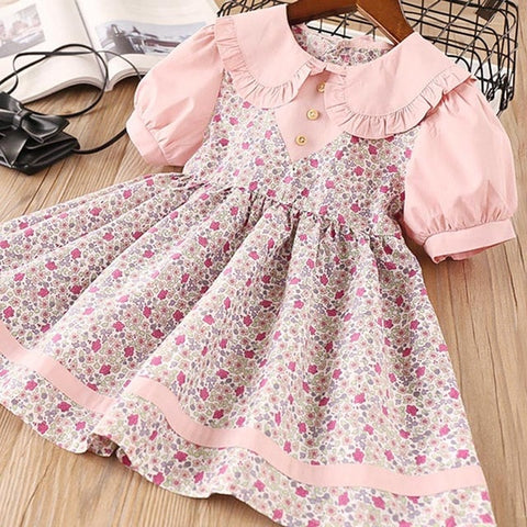 Image of Keelorn Girl Dress Summer Cotton Children Clothing Sleeveless Toddler Princess Kids Dresses for Girls Clothes Embroidery Vestido