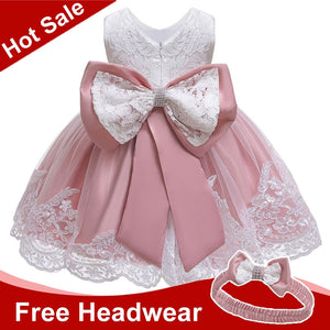 Baby Girls Dress Newborn Baby Lace Princess Dresses For Baby Girls 2 1st Year Birthday Dress Easter Costume Infant Party Dress