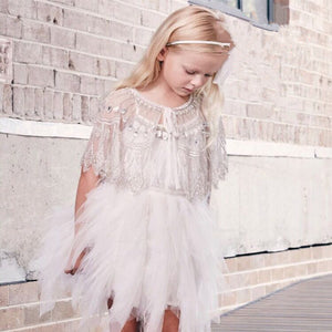 DROP SHIPPING BABY GIRL CLOTHE GIRLS CAPES TUTU DU MONDE KIDS CLOTHES OUTWEARS PRINCESS COSTUME GIRLS CLTOHIING