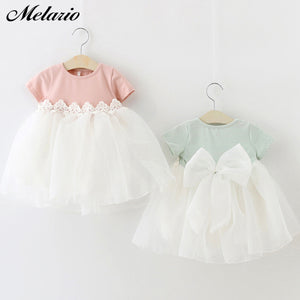 Melario Baby Girl Dresses 2020 Baby Girl Birthday Party Tutu Dresses for Toddlers Princess Clothes 1 Year Girls Baptism Clothing