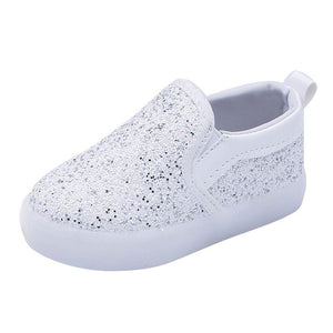 WEIXINBUY Baby Children Shoes Kids Led Flash Sneakers Spring Autumn Fashion Sequin Sneakers Girls Princess Lightning Shoes 21-30