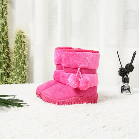Girls classic UGG Style  cotton shoes