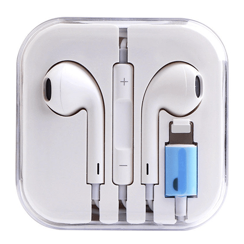 Auriculares iPhone Lightning (Earpods) - Digitek