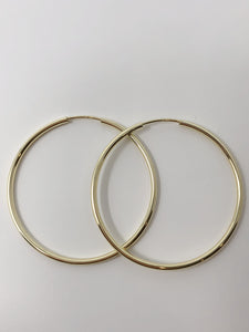 Sleeper Style Large Hoops