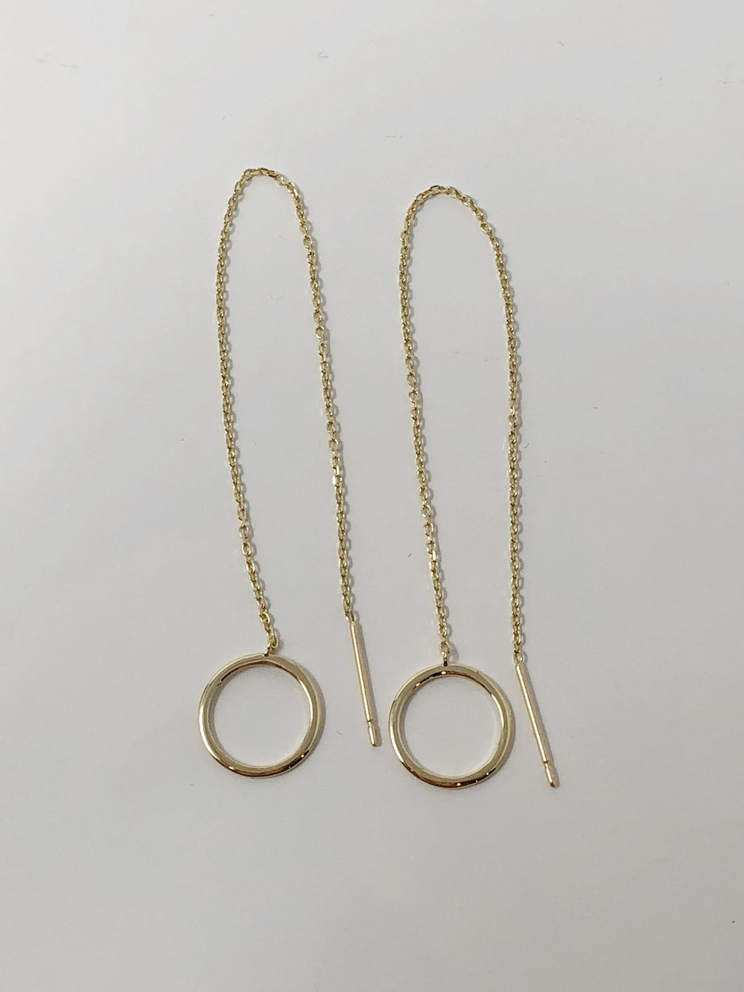 Circle Dangling Earrings
