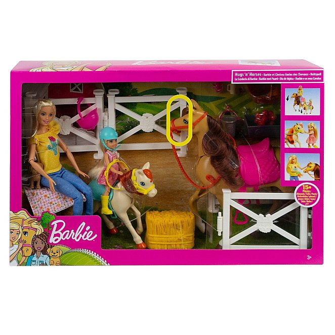 Barbie Hugs and Horses