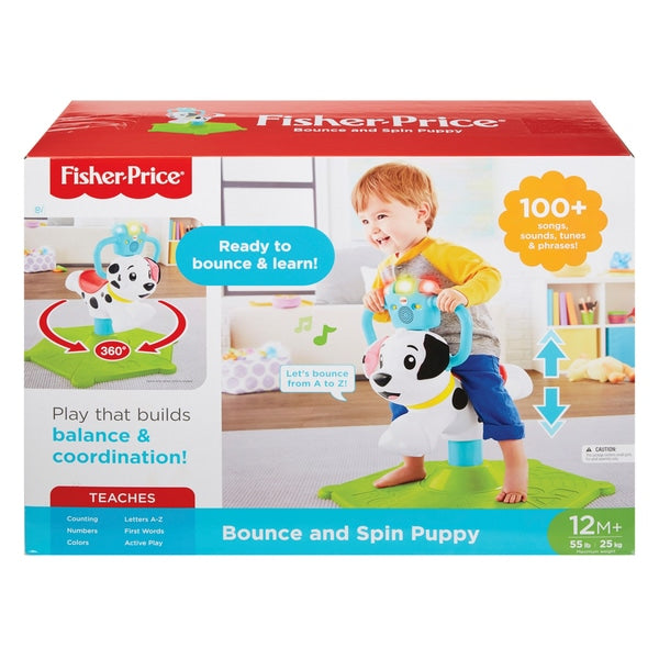 FisherPrice Bounce and Spin Puppy