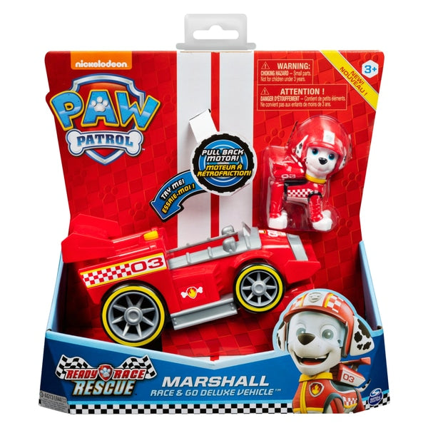 PAW Patrol Ready Race Rescue Vehicle Marshall