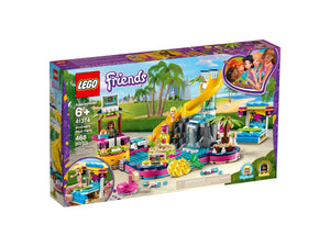 LEGO Friends 41374 Andreas Pool Party