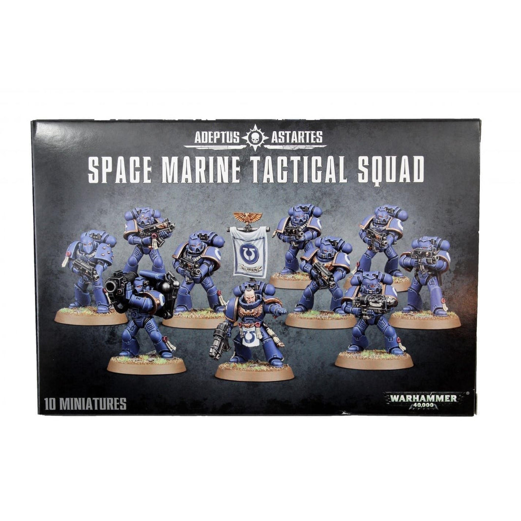 Space Marine Tactical Squad 48-07