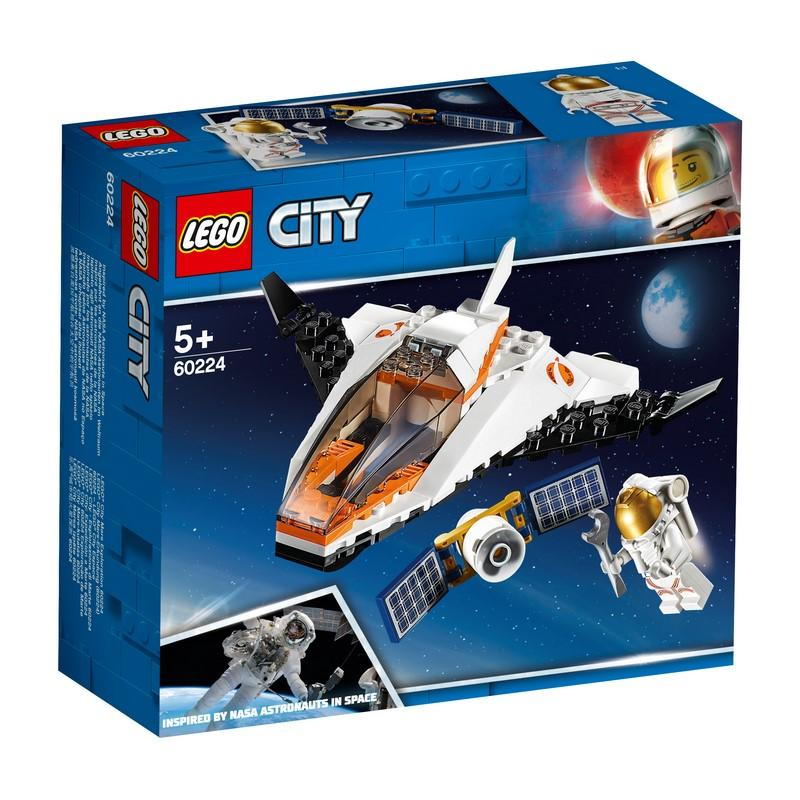 LEGO City Space Port 60224 Satellite Service Mission