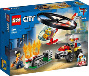 LEGO City Fire 60248 Fire Helicopter Response