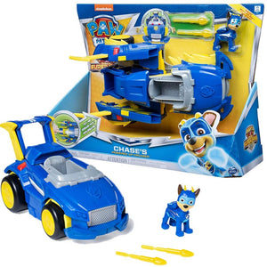 PAW Patrol Power Changing Vehicles Chase