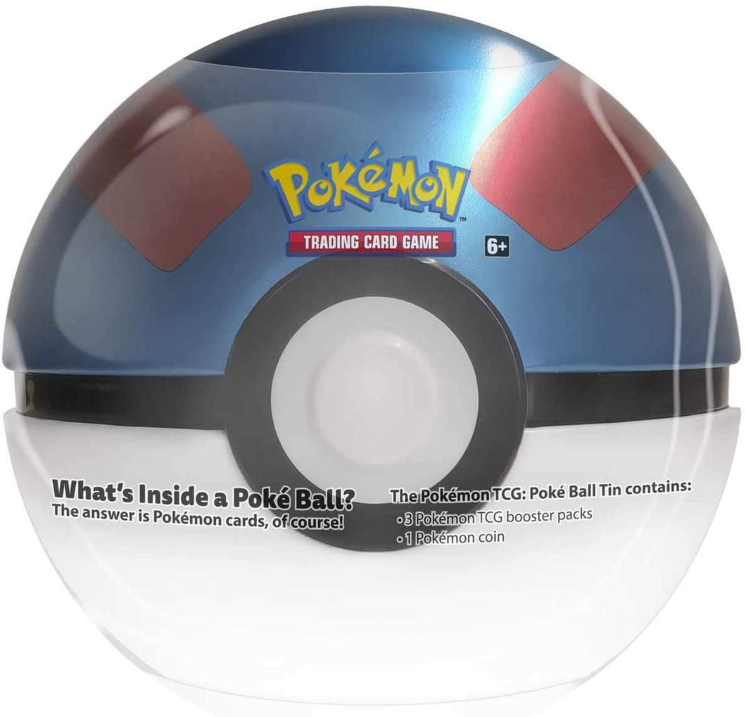 Poke Ball Tin Great Ball