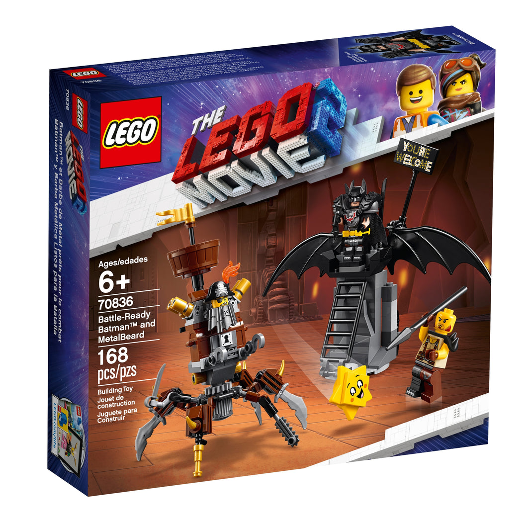 LEGO Movie 70836 Battle-Ready Batman and MetalBeard