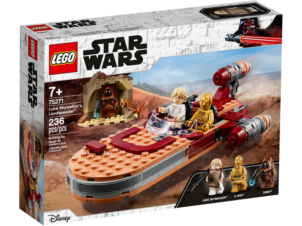 LEGO Star Wars 75271 Luke Skywalkers Landspeeder