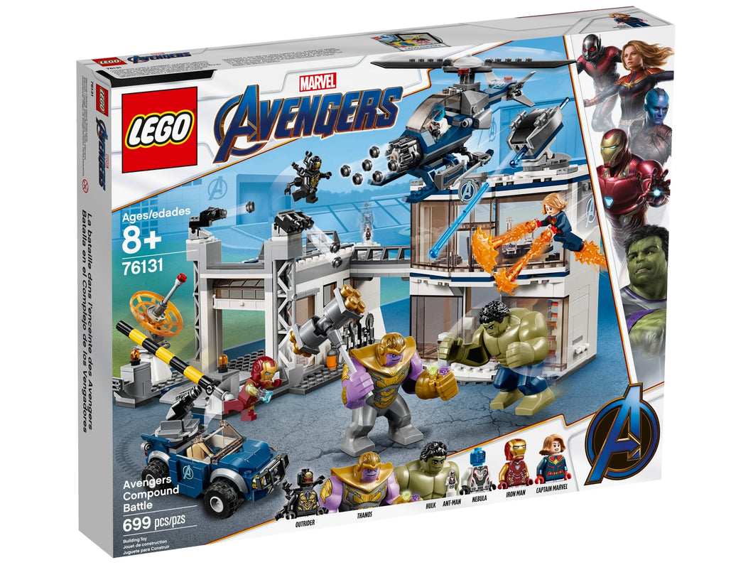LEGO Avengers Movie 4 76131 Avengers Compound Battle