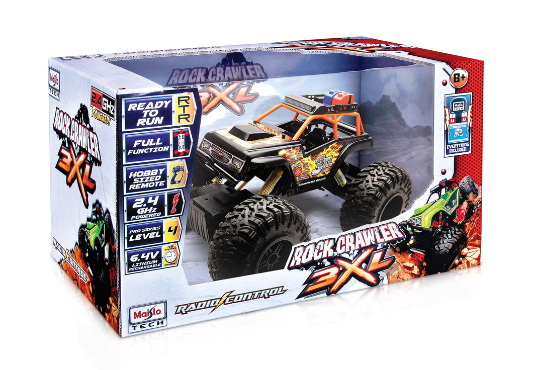Maisto Rock Crawler 3XL (colours may vary)