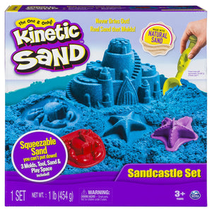 Kinetic Sand Sandcastle Set Blue