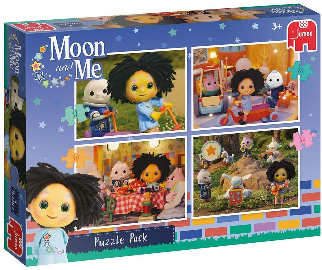 Moon and Me 4 in 1 Puzzle Pack