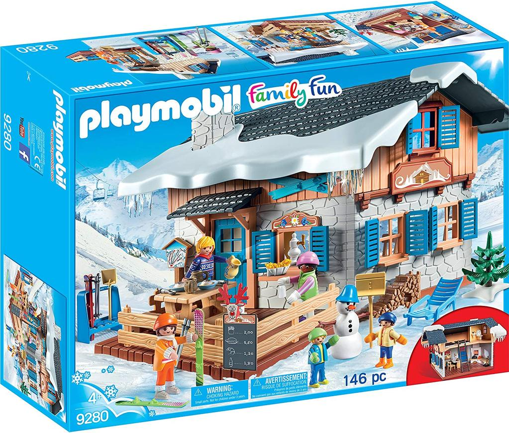 Playmobil Family Fun 9280 Ski Lodge