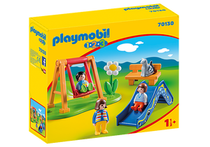 Playmobil 1.2.3 70130 Children's Playground