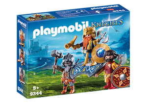 Playmobil Knights 9344 Dwarf King with Guards