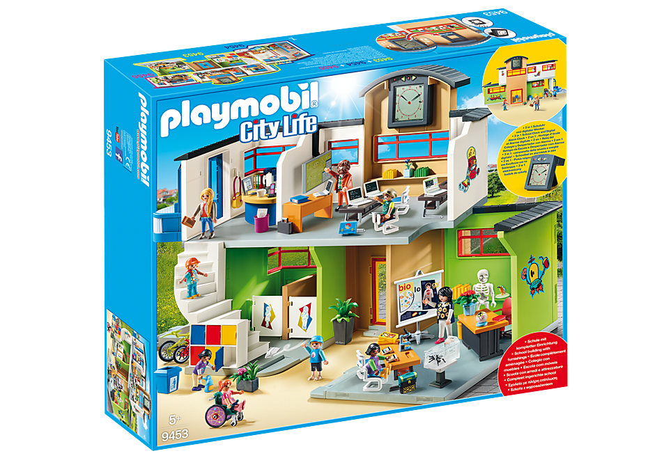 Playmobil City Life 9453 Furnished School Building