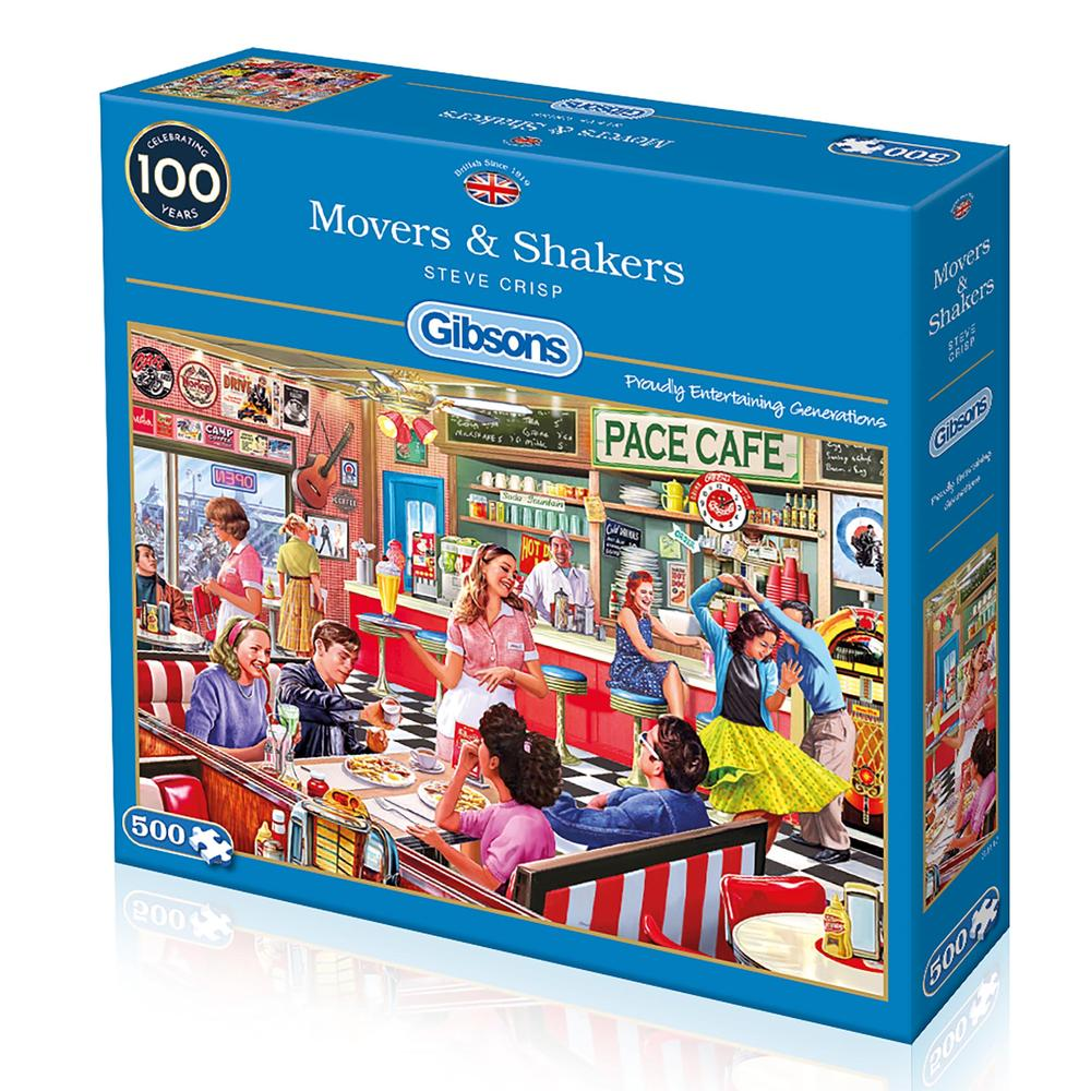 Movers & Shakers 500pc