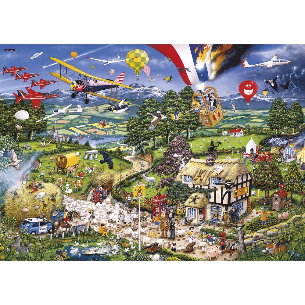 I Love the Country 1000pc