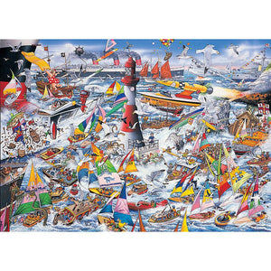 I Love Boats 1000pc