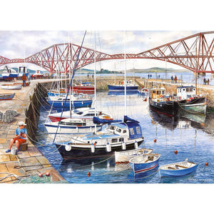 Queensferry Harbour 1000pc