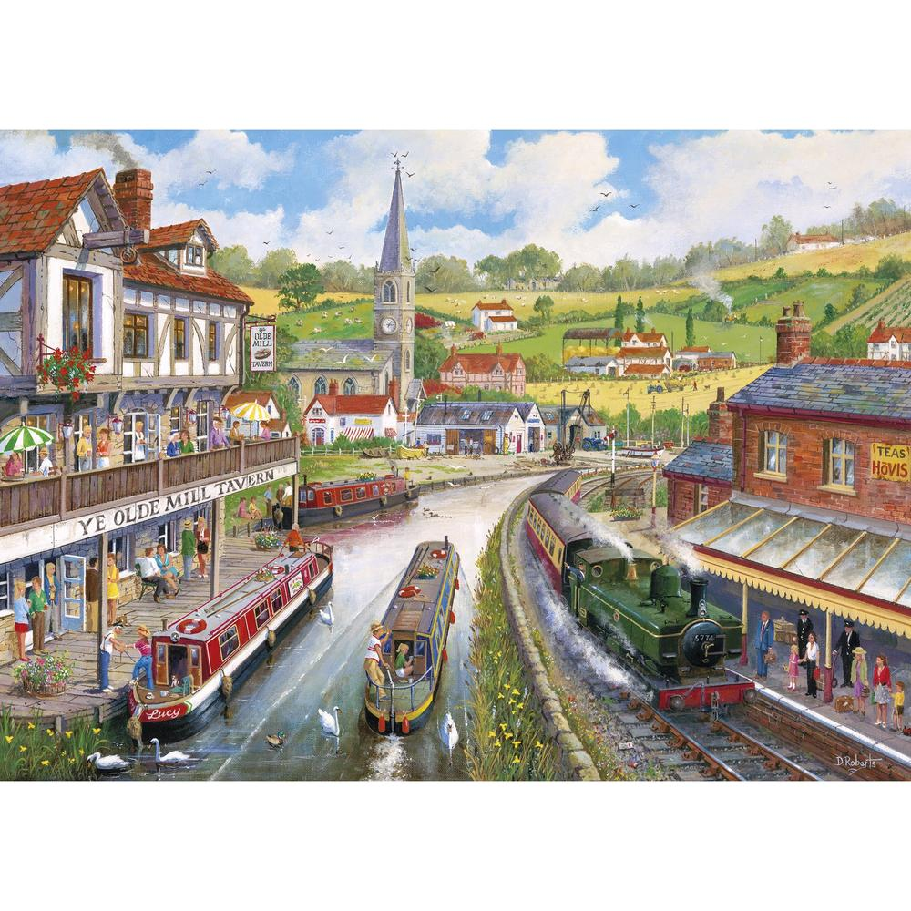 Ye Olde Mill Tavern 1000pc