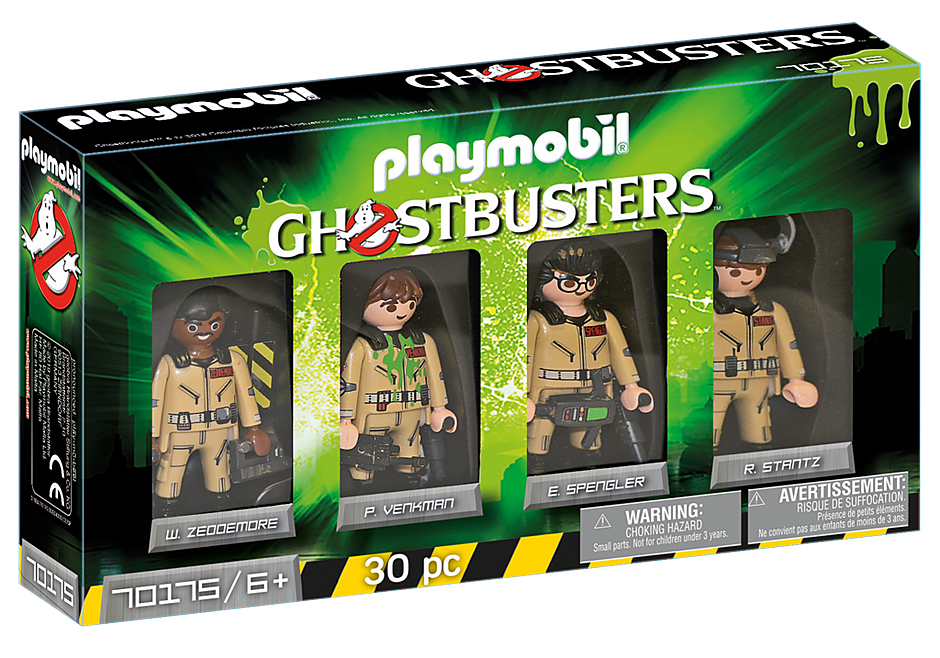 Playmobil Ghostbusters 70175 Collector's Set Ghostbusters