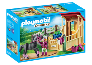 Playmobil Country 6934 Horse Stable with Araber