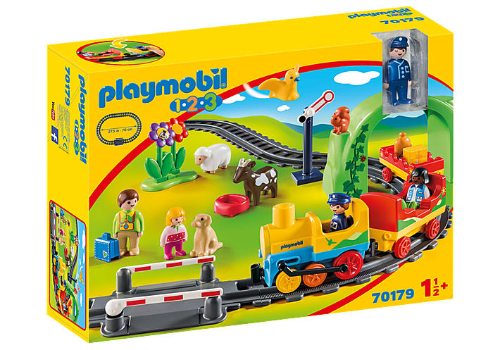 Playmobil 1.2.3 70179 My First Train Set