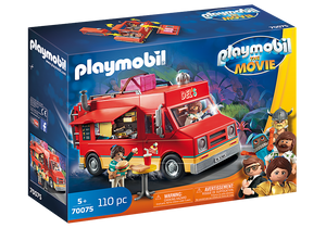 Playmobil Movie 70075 Del's Food Truck