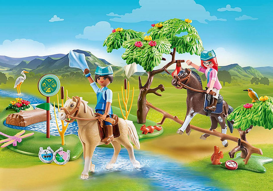 Playmobil Spirit 70330 River Challenge