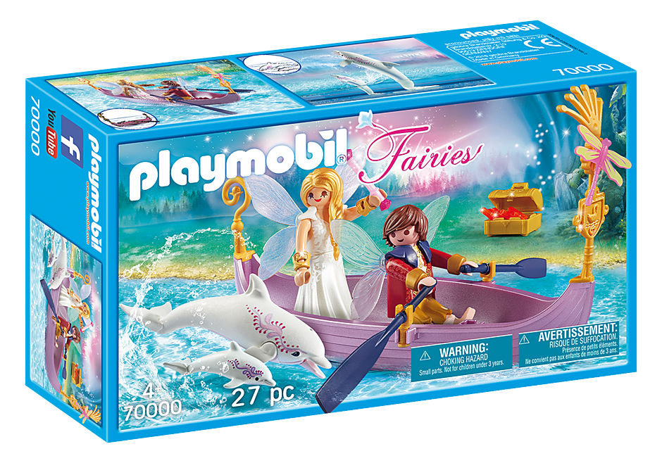 Playmobil Fairies 70000 Romantic Fairy Boat