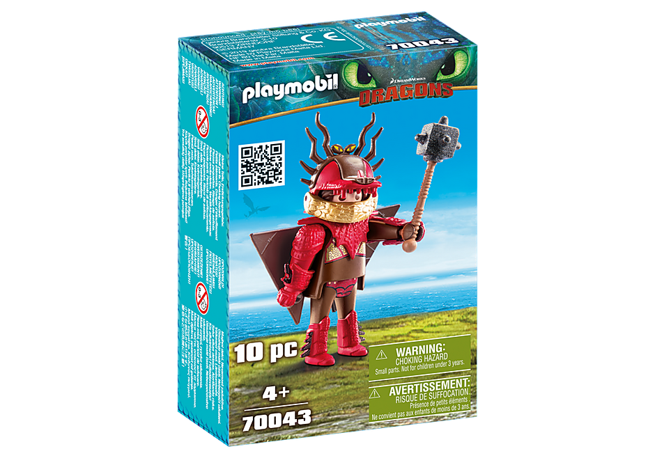 Playmobil Dragons 70043 Snotlout with Flight Suit