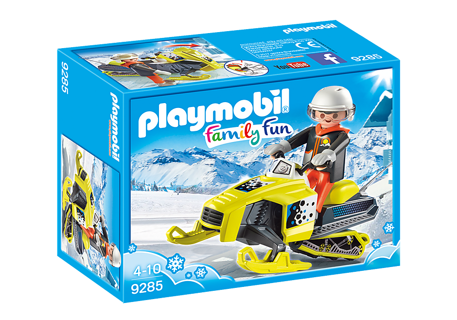 Playmobil Family Fun 9285 Snowmobile