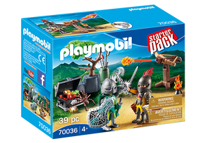 Playmobil Knights 70036 StarterPack Knight's Treasure Battle