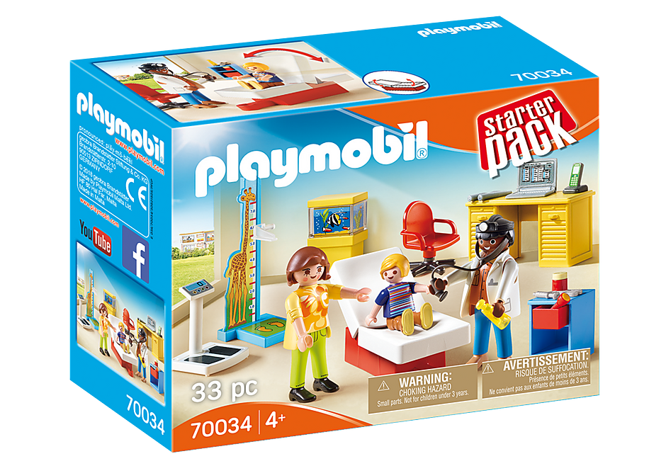 Playmobil  70034 StarterPack Pediatrician's Office