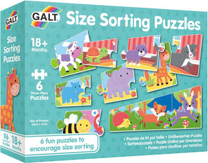 Galt Size Sorting Puzzles