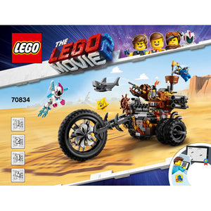 LEGO Movie 70834 MetalBeard's Heavy Metal Motor Trike!