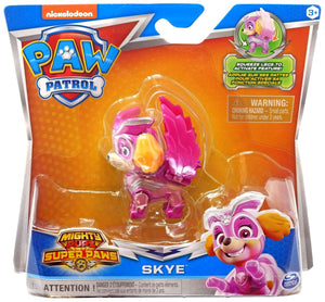 PAW Patrol Mighty Pups Super Paws Skye Figure